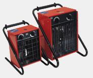 Bild von mobilen Elektrobauheizern